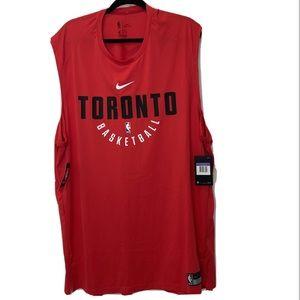 Nike NBA Toronto Raptors Red Practice Jersey 3XL